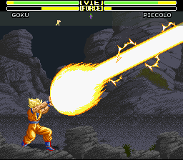 Dragon Ball Z - La Legende Saien - Battle  - KAMEHAMEHA!!! - User Screenshot